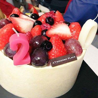 マスカルポーネ生クリームケーキ