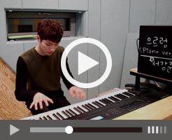 ソ・ガンジュンの特技ピアノ