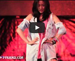 パクシネの特技韓国芸能人動画