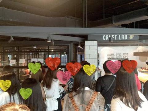 CJ E&Mセンター内の見学ツアー