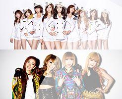 少女時代vs2NE1