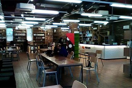 カフェや図書館のような