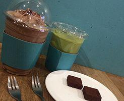 カロスキルのチョコレート専門店、カフェ「amychoco」