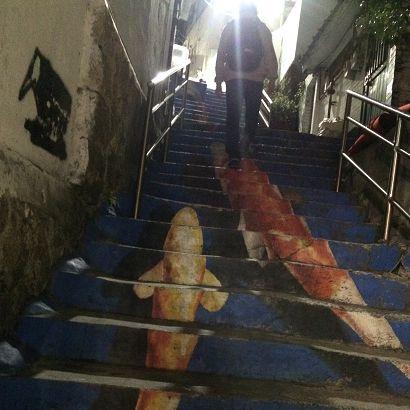 梨花洞にある壁画村