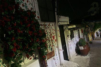 壁画村だけでなくヘファの街も回りながら