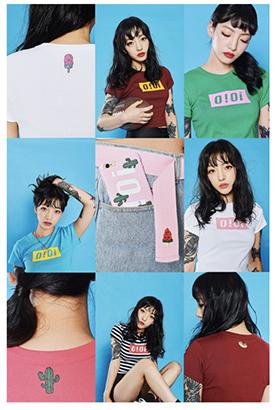 Kpopアイドルも着用の「oioikorea」