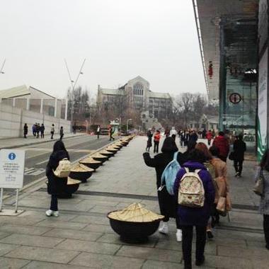 韓国の学生