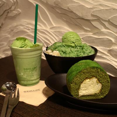 コスメ・お菓子・スイーツetc緑茶モノあれこれ