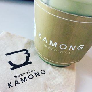 KAMONGのミントチョコカモンチーノ