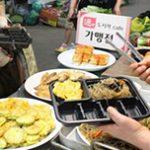 通仁市場の「お弁当カフェ」
