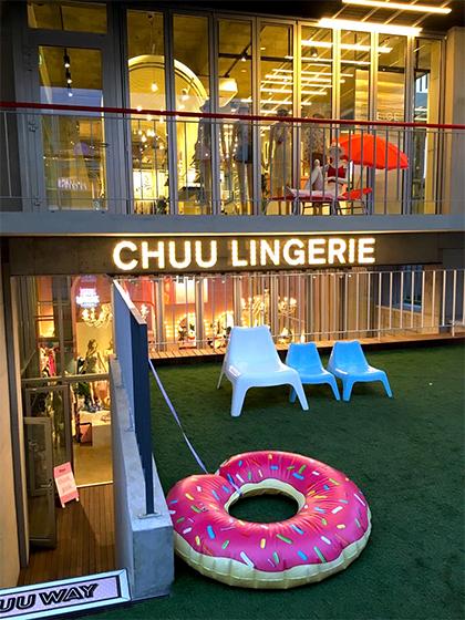 『CHUU』弘大の路面店