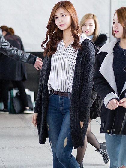 ツウィちゃんのファッション