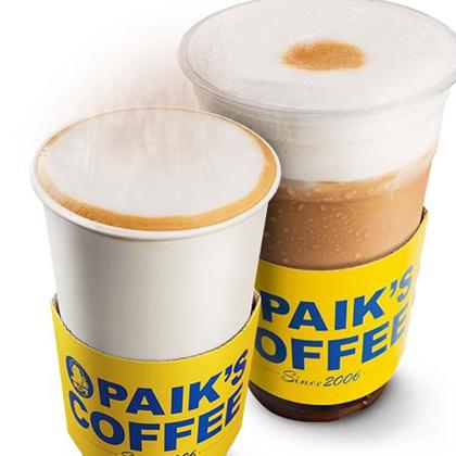 PAIK'S COFFEE オレンジラテ