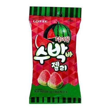 韓国版スイカバーグミ(수박바 젤리)