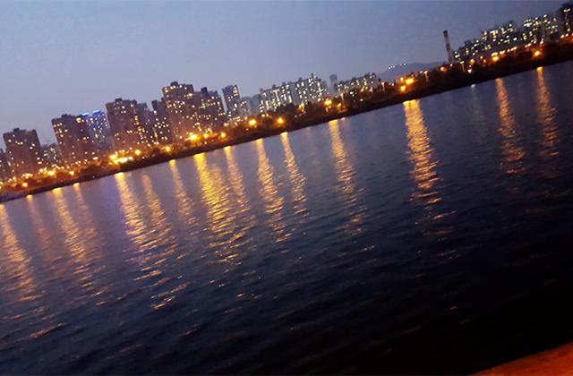 漢江クルーズ