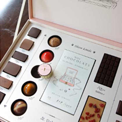 チョコレートのデザイン