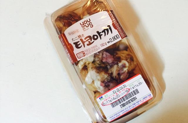 타코야끼(たこ焼き)@GS25