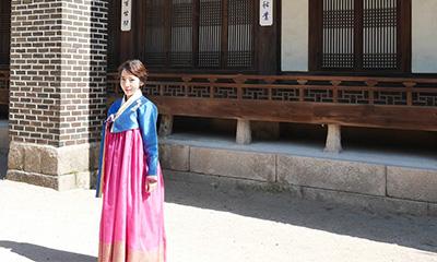 3300wonで韓服体験ができる雲峴宮
