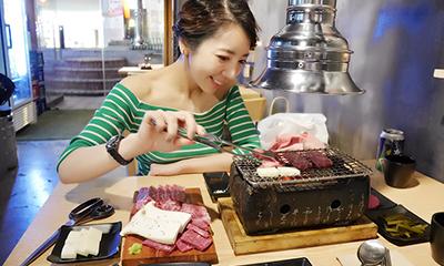弘大にあるお洒落な韓牛のお店「798화로」