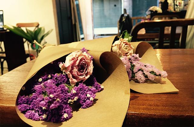 お花をプレゼント