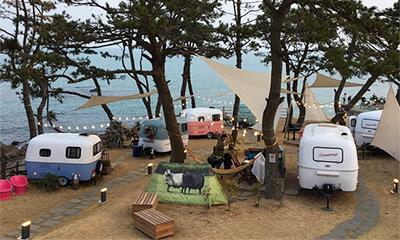 韓国で人気の感性溢れるキャンプ場紹介