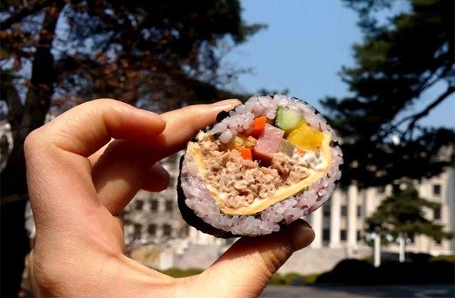 참치김밥(チャムチムパッ)
