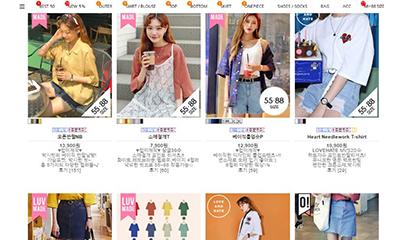 韓国の20代女子が選ぶ人気のオンラインショップBEST6