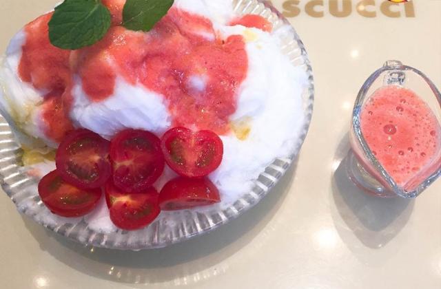 甘酸っぱいトマトピューレ