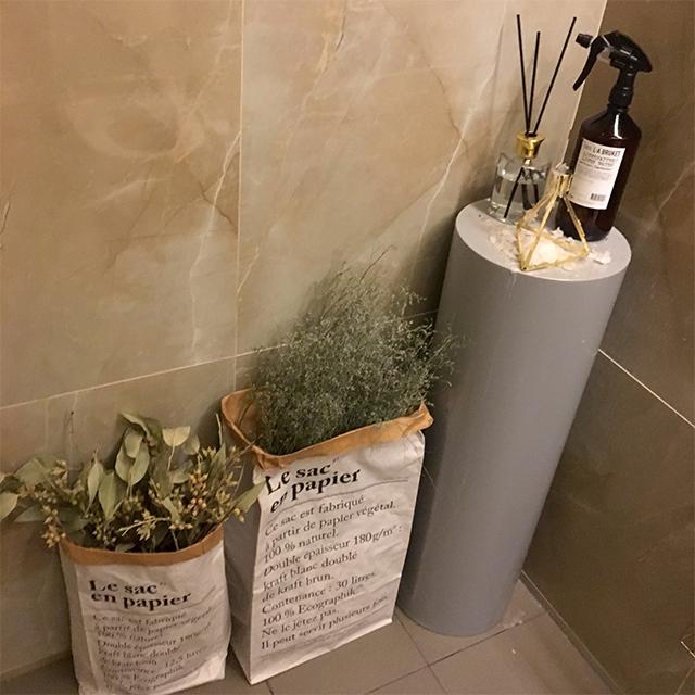 トイレにいってもびっくり