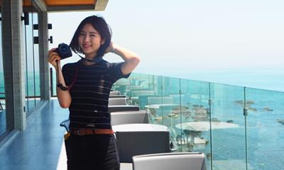 釜山の絶景カフェ♡オーシャンビューが素敵な「GREETVI」