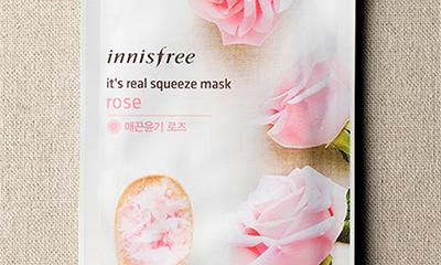 Innisfree【イッツ リアル スクイーズ マスク】