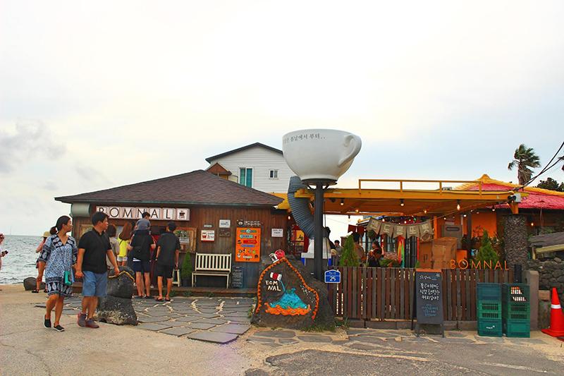 済州島を代表するカフェ「BOMNAL CAFE」