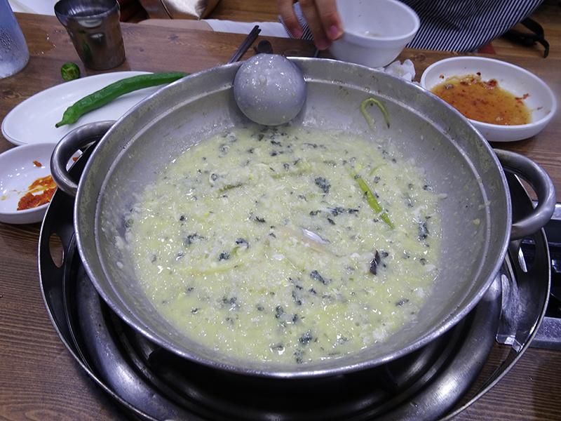 韓国の雑炊