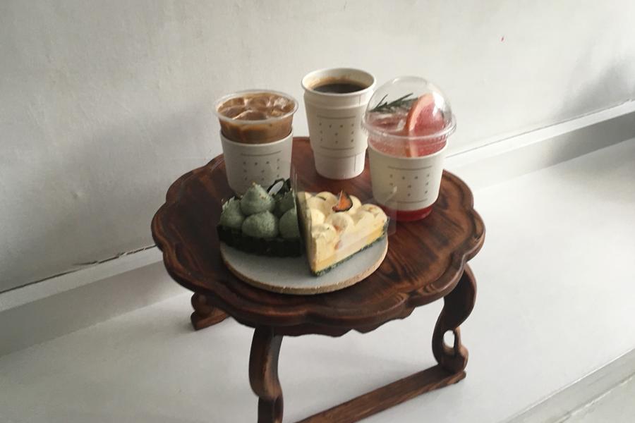 ヨンナムドンのカフェ『arari ovene』