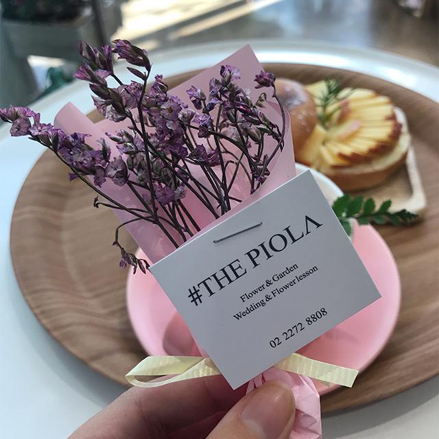 『THE PIOLA』フラワーカフェ