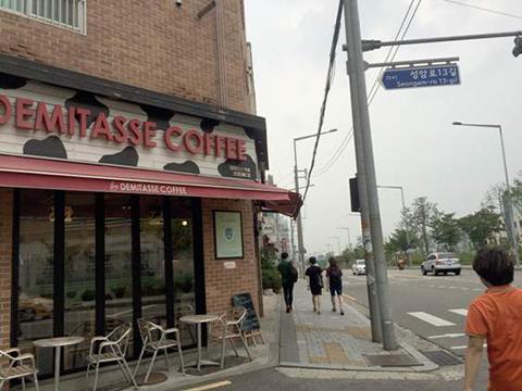 空港鉄道「デジタルメディアシティ駅」9番出口