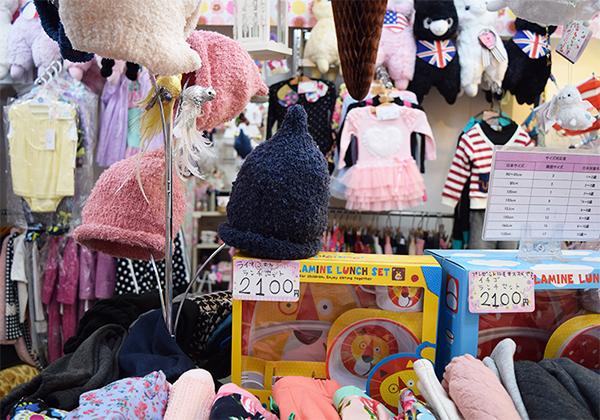 韓国子供服店舗