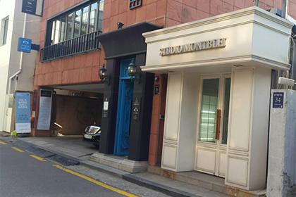 韓国のフォトスタジオ