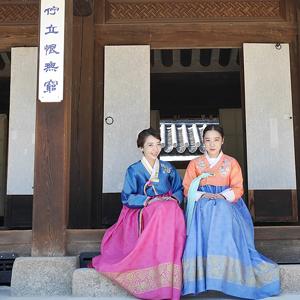 雲峴宮のお手軽「韓服体験」