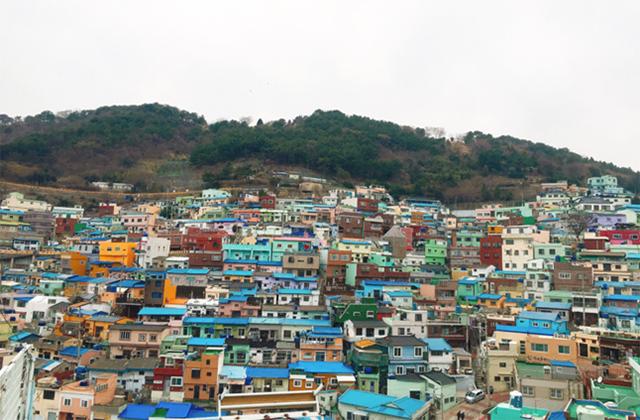 甘川文化村(カンチョンムナマウル)