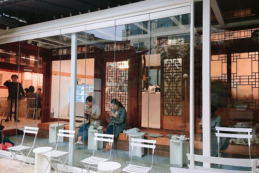 韓屋カフェ『bear cafe』
