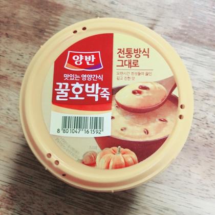꿀호박죽/蜂蜜かぼちゃ粥
