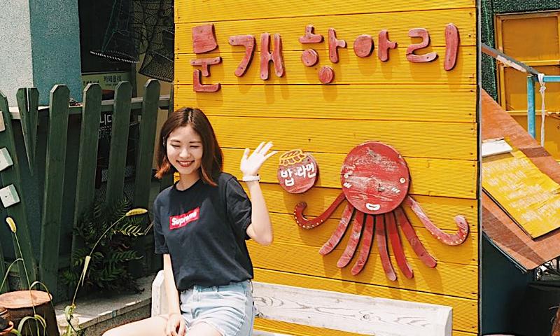 済州島グルメの新定番 「たこラーメン」