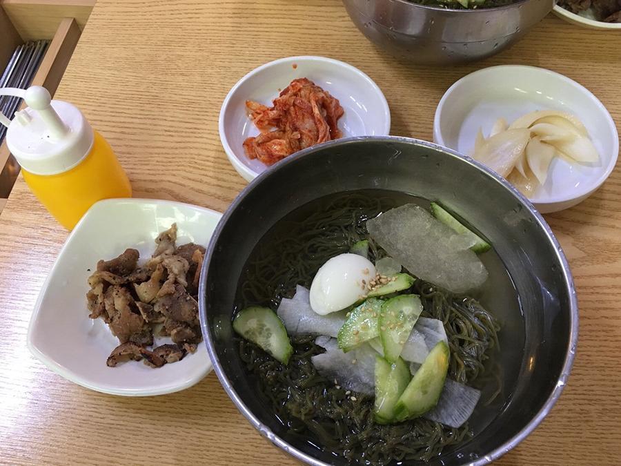 炭火焼肉冷麺のおいしい食べ方