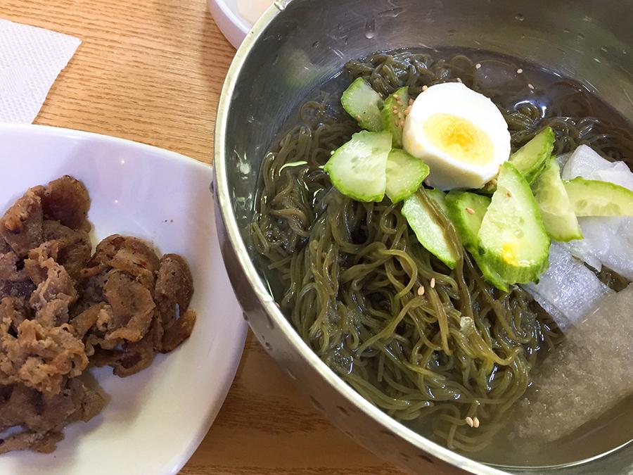 炭火焼肉冷麺