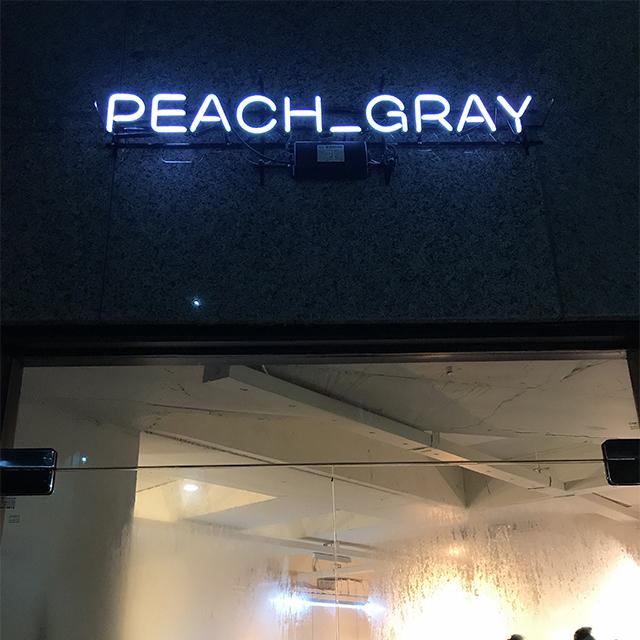 PEACH GRAY