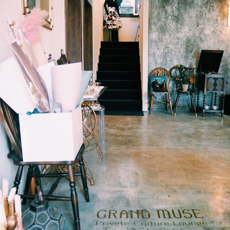 隠れ家カフェ【GRAND MUSE】