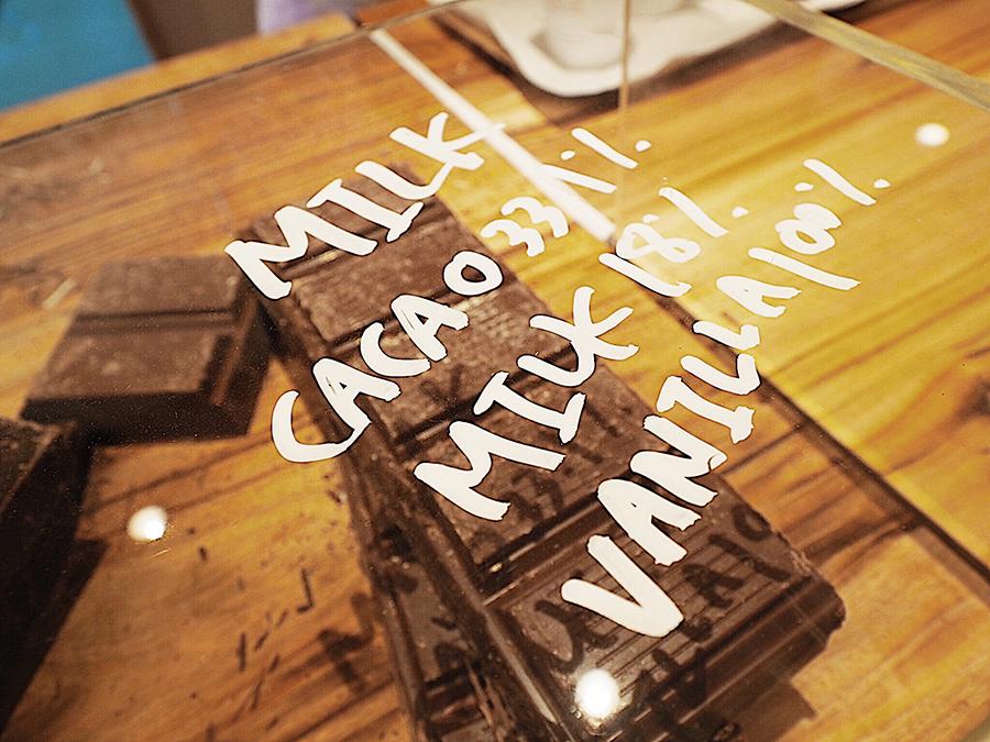 チョコレートは2種類