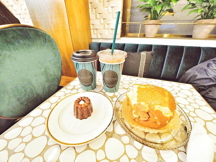 スイーツカフェ「Cafe Knotted」