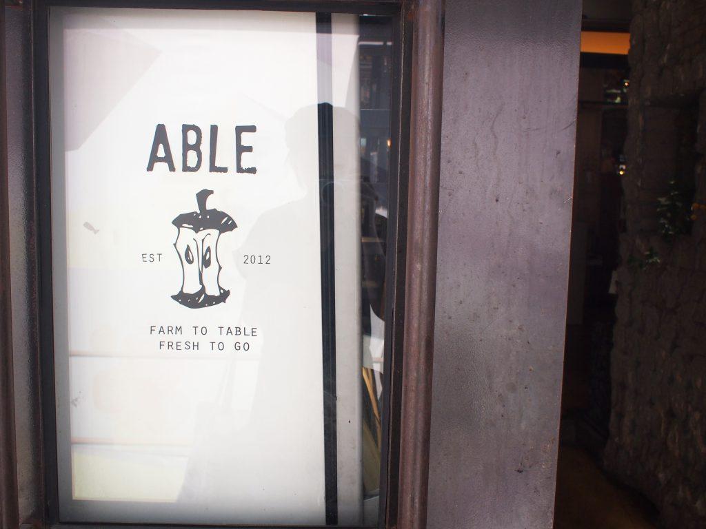 健康志向カフェ♪『ABLE』